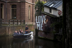 Love me (Alex Damian) Tags: city trip cruise holland love netherlands dutch amsterdam boat canal fuji tourist fujifilm guide 1855 xe2
