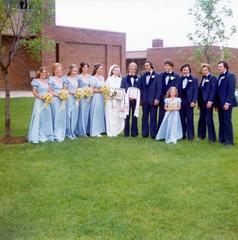 1976-06-19 Paul & Raisa Seliske wedding 1 (JoeSeliske) Tags: wedding ontario london church june st john paul catholic roman divine 19 rc 1976 raisa seliske