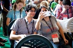 Raystorm selfie at Wikimania 2016 Esino Lario (Sebastiaan ter Burg) Tags: italy mountain community village open free event knowledge wikipedia conference wikimania esinolario