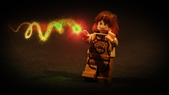 LEGO Molly Weasley (Geertos13) Tags: portrait photoshop effects photography hall lego artistic you great daughter harry potter spell molly bitch after vs custom curse minifigure weasley duelling bellatrix not