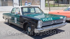1966 NYPD Plymouth Fury I Police Patrol Car, Coney Island Mermaid Parade 2016, New York City (jag9889) Tags: 2016 2016coneyislandmermaidparade 20160618 antique art auto automobile brooklyn car coneyisland festival finest firstresponder green kingscounty lawenforcement mardigras mermaid ny nyc nypd newyork newyorkcity newyorkcitypolicedepartment outdoor parade plymouth plymouthfury policedepartment precinct63 surfavenue transportation usa unitedstates unitedstatesofamerica vehicle jag9889