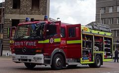 London Fire Brigade (999 Response) Tags: london fire mercedes benz day open lambeth brigade 2016 atego lfb lvx rl03 rl03lvx