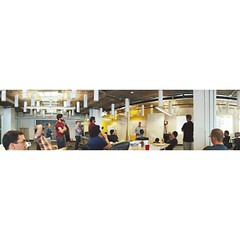 LeSS Training @SpareFoot | @7lenses 📷 Week 4 - Panorama.  #7lenses #panorama #bettertogether #collaboration #austin #texas #startuplife #lessworks (kalebdf) Tags: square squareformat iphoneography instagramapp uploaded:by=instagram