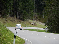 Rossfeld (simo2582) Tags: road street travel panorama mountains alps heritage classic nature car vw vintage germany landscape deutschland bavaria berchtesgaden europe day view natural beetle historic berge alpine land alpen alpi blick kfer rossfeld berchtesgadener strase rosfeld panoramastrase