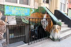 E9thSt (55) (ShellyS) Tags: nyc newyorkcity manhattan eastvillage buildings wallart murals streeets