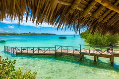 View at the jetty (The Sands Kenya) Tags: ocean africa beach island kenya indian diani