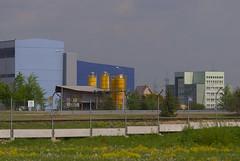 Industrial spring-1 (algimantas_tirlikas) Tags: chimney tree landscape spring may pipeline rafinery