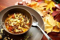 Zuppa di Lenticchie (cuocavolante) Tags: autunno pomodori comfortfood cereali lenticchie
