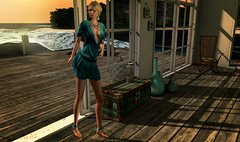 THE SMELL OF THE OCEAN NEVER GETS OLD (marpil.grafenwalder) Tags: soy nyas magika wereclosed applefall {whatnext} moderncouture