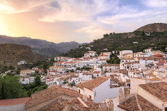 Castril, Granada (The Pumpkin Theory) Tags: travel houses sunset sky espaa mountains tourism clouds atardecer twilight spain warm europa europe ngc sierra cielo granada nubes puestadesol casas turismo montaas viajar crepsculo tipicas castril