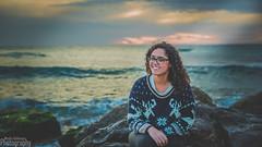 Gorgeous sunset at the beach (Moshe Ashkenazi Photography) Tags: sunset sea portrait sky beach nikon gorgeous sp shore f di d750 28 mm dslr tamron vc usd 2470