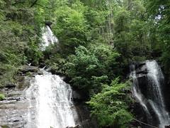 Anna Ruby Falls showing both streams (fyldedeboo) Tags: anna georgia waterfall ruby