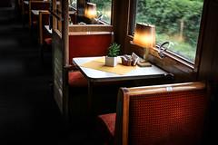 Mitropa, restaurangvagn (Michael Erhardsson) Tags: skandinavien p interir 2016 tget vagn matsal ta erleben tgresa ombord restaurangvagn