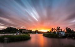 Sunset Explosion (m.cjo Fotografie - Martin Rakelmann) Tags: sunset bulb long exposure time timeexposure te rgen langzeitbelichtung baabe longtimeexposure bollwerk lzb lte mcjo