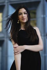 Modèle: Julia | Test (Gabrielle Jovanovic) Tags: portrait paris noir couleurs blanc défense gabriellejovanovic