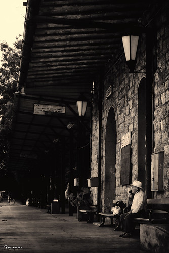 """La Estación del Tren"" (The train station) Oaxaca, Mex. by Ranachilanga"