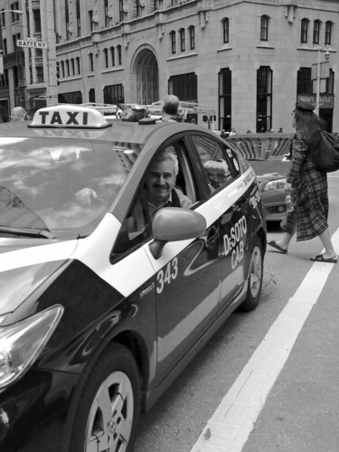 Hello Mr. Taxi Man