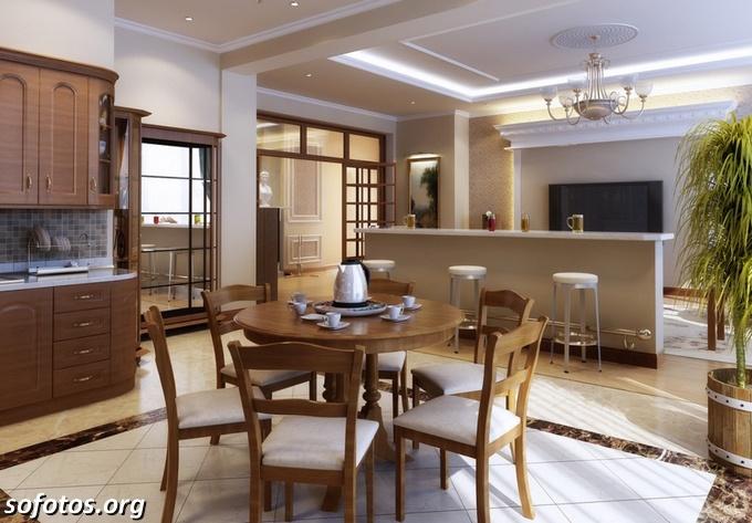 Salas de jantar decoradas (81)