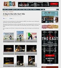 A Day In The Life: Kurt Vile  Paste Magazine  Photos by Doug Seymour (Doug Seymour) Tags: life philadelphia by radio magazine mural pretty day photos kurt live paste doug steve may free pa 24 noon powers seymour npr daze vile on the wxpn in braodcast wakin 2013 a