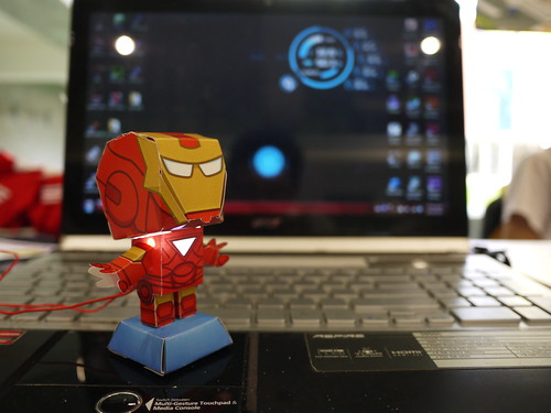 Iron Man Weather Station