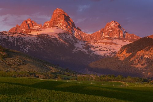 Teton Valley Sunset