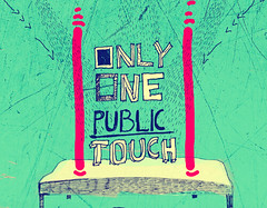 One public touch (Lucia ermkov) Tags: eye illustration bed touch dream