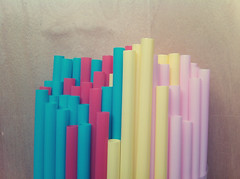 IMG_1994 copy (Morphicx) Tags: camera pink blue red color colors yellow mobile happy colorfull 4 drinking happiness fresh round getty mobilecamera straws iphone alot iphone4