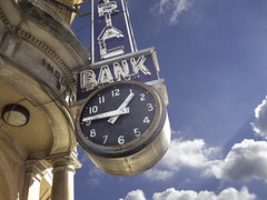 Industrial Bank 2 (clif_burns) Tags: signs dc washington industrial bank clocks banks ustreet