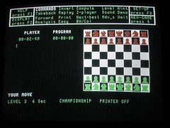 Psion QL Chess for Sinclair QL (retrocomputers) Tags: chess videogame sinclair psion ql sinclairql