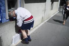 Old Money (estebanmerlin) Tags: street old man money paris saint photography photo photographie snap des saintgermain germain prs