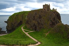 Dreaming of Scotland... (LindaJ55) Tags: greatbritain holiday castle history stone scotland rocks ruin cliffs ancestry dunnottarcastle