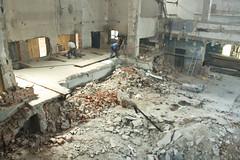 Nov podlaha (Nov Synagga) Tags: synagoga ilina zilina synagga rekontrukcia novasynagga
