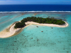 KAP on Muri Beach, Rarotonga, Cook Islands (Pierre Lesage) Tags: kite polynesia hotel resort southpacific cookislands rarotonga kap kiteaerialphotography autokap muribeach dyneema pierrelesage ricohgx200 kapstock pdanleighdeltar8