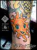 Tattoo By Enoki Soju (Enoki Soju) Tags: sun tattoo asian korean tattooart enoki tattoodesign tattooartist suntattoo tattoophoto enokisoju enokisojutattoo professionaltattooartist tattoobyenokisoju