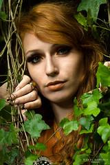 Solennelle (MaralSabbagh) Tags: red portrait orange nature beauty forest mothernature secretgarden womanportrait beautifulmodel rousses fashionphotoshoot tropicalatmosphere