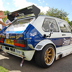 The mk1 Forge Berg Cup Golf at retro rides gathering 2013