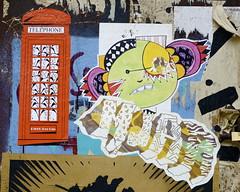 d7606/dee-one and mjar (Claudelondon) Tags: streetart london graffiti shoreditch eastlondon