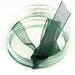 groene legering + Ribbon armband