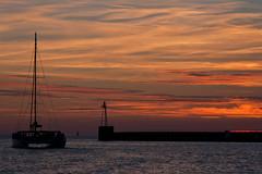 Sunset At Harbour Mouth (ClydeHouse) Tags: sunset marseille paca worldheritagesite catamaran 13 vieuxport bouchesdurhne byandrew provencealpesctedazur