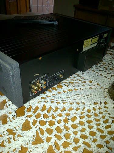 Marantz CD80 - backside