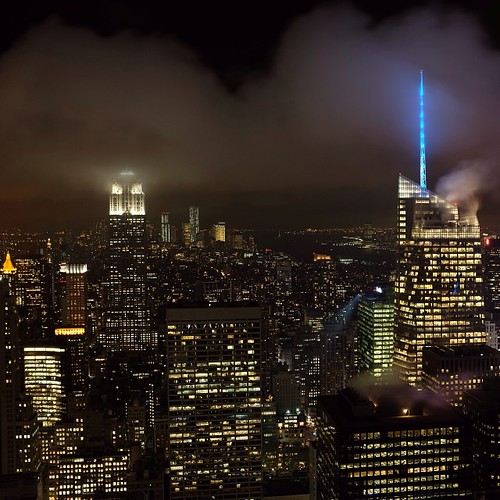 Nifty Nighttime Nebulous -  - What an amazing night!!! Seven instagrammers met up at the Top of the Rock, with our heads in the clouds. Day turned to night, and @karlthefog stopped by for a nightcap... Special thanks to @sittingingodspalm @tgruffi @missha