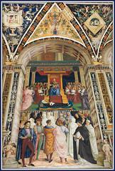 Libreria Piccolomini, Duomo Santa Maria Assunta, Siena (claude lina) Tags: italy tuscany siena toscane italie sienne
