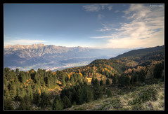 Fall Colors (stetre76) Tags: autumn panorama mountains fall colors pine season landscape austria tyrol patscherkofel zirbenweg swissstonepine
