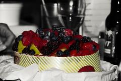 Day 306 - Happy Birthday Roger (Sharon's Shotz) Tags: cake fruit yummy berries cheesecake birthdaycake day306 day306365 3652013 365the2013edition 02nov13