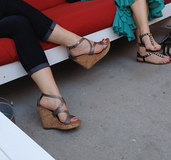 IMG_1110 (heellover91) Tags: woman sexy feet girl leather bag foot high shoes toes arch sandals thong heels strappy wedges