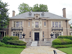 French Renaissance Revival Style Mansion, Swiss Avenue, Dallas (StevenM_61) Tags: house architecture dallas texas mansion residence frenchrenaissancerevival