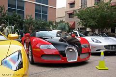 Bodyguards (MJParker1804) Tags: california red black sport austin texas convertible grand quad ferrari turbo bugatti lamborghini supercar w16 veyron hypercar aventador