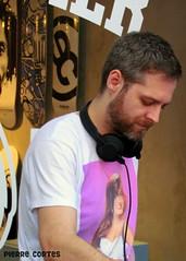 DJ (Pierre Cortes) Tags: party music man beard dj anniversary headphones storvo
