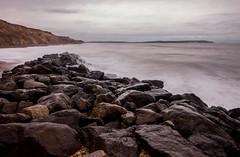 Battered Rocks (Mark_Kendrick_Photography) Tags: ocean sea rock island rocks long exposure waves break wave filter isleofwight nd barton isle groyne wight density iow neutral bartononsea neutraldensity