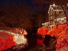 Clifton Mill Lights (AmyBaker0902) Tags: christmas mill lights clifton grist